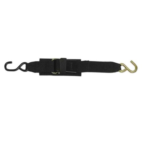 X 4 ft. Paddle Buckle Transom Tie Down Straps 2 in