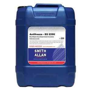 Ethylene Glycol Coolant >> Details About Antifreeze Summer Coolant Blue Concentrate Ethylene Glycol 20 Litre 20l