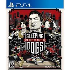 Sleeping Dogs -- Definitive Edition (Sony PlayStation 4, 2014)