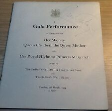 MARGOT FONTEYN   Royal Gala Performance 1954 Programme SIGNED VERY RARE  ITEM