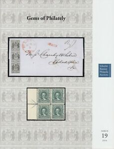 Gems-of-Philately-Rare-stamps-and-covers-2016-Schuyler-Rumsey-Auction-catalog