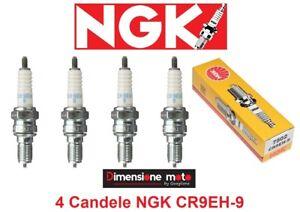 7502-Kit-4-Candele-NGK-CR9EH-9-per-Honda-VFR-750-R-dal-1987-al-1993