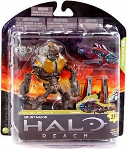 McFarlane-Toys-Halo-Reach-Series-4-Grunt-Major-Action-Figure-Loose