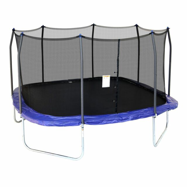 Skywalker Trampolines 15 Square Trampoline With Enclosure New