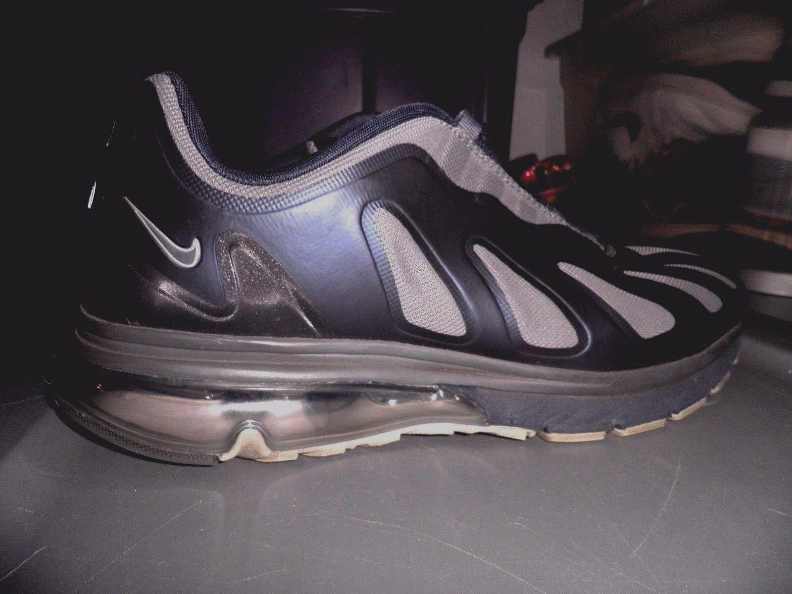 Nike Air Max 96+ Evolve Size 13 Obsidian Dark Grey-Metallic Silver-Metallic