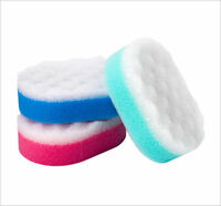 12 x Bath Shower Body Massage Bath Scrub Exfoliating Soft Cleaning Sponges New