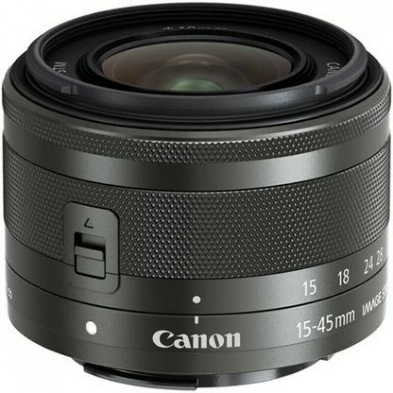 Canon EF-M 15-45mm F3.5-6.3 IS STM Black  (Trade ins Welcome - 021 945 1606)