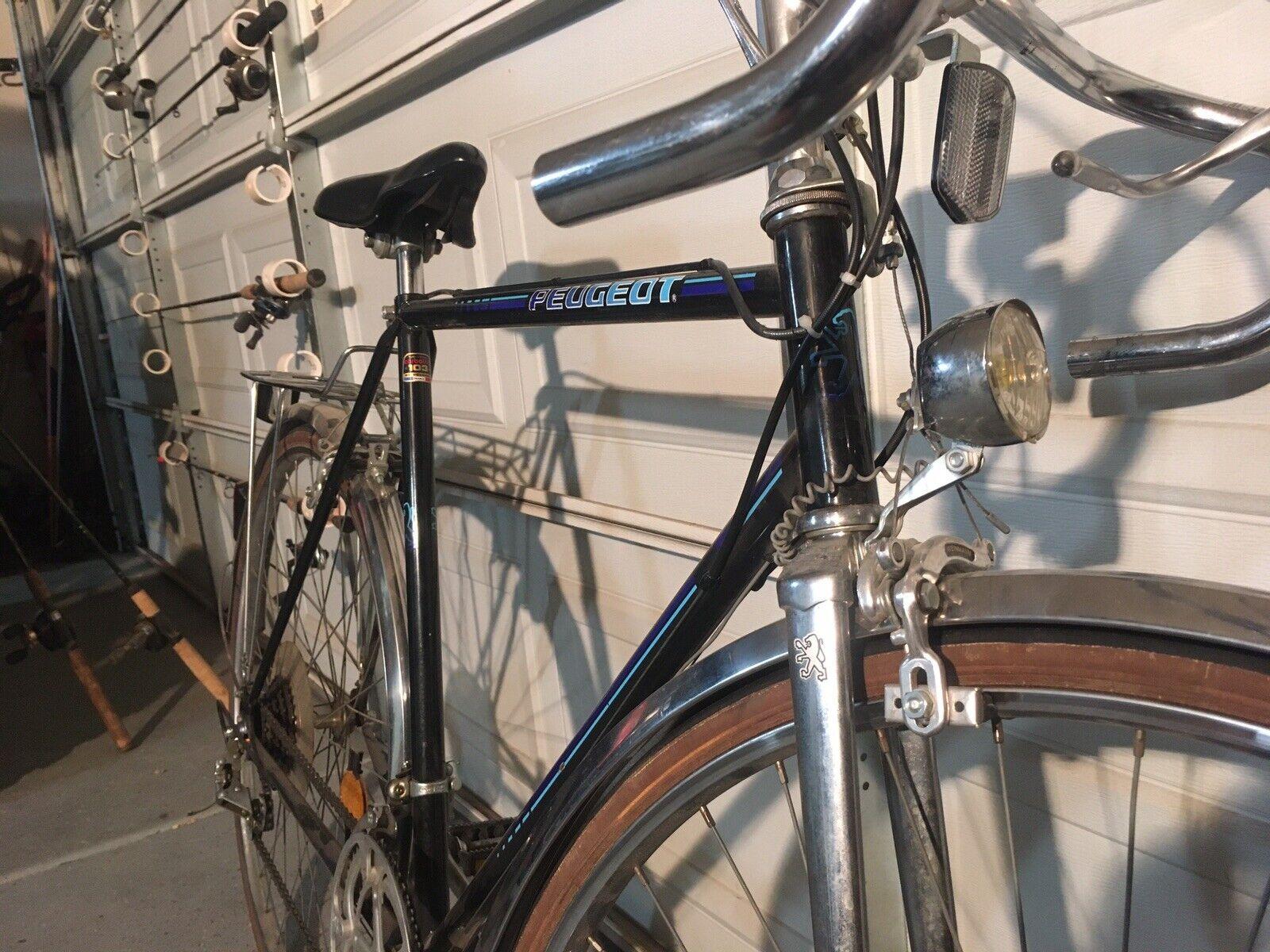 Vintage Peugeot Carbolite 103 Racing Bicycle For Sale Online Ebay