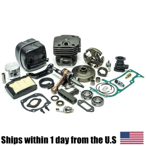 50MM Cylinder Piston Crankshaft Muffler Clutch Kit for Husqvarna 503 69 10 73