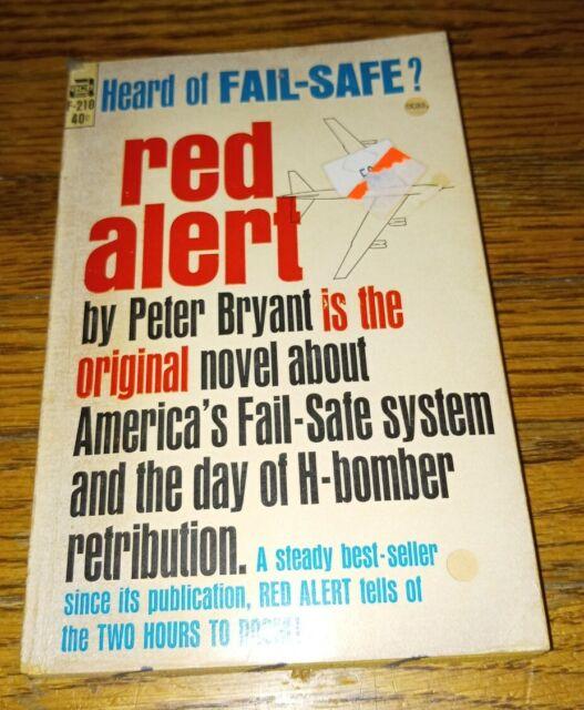 Red Alert Peter Bryant 60s PB Ace F-210 movie tie in Dr Strangelove vintage book