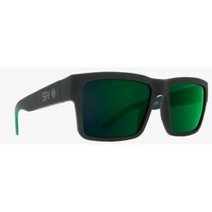 Spy-Montana-Sunglasses-For-Men-Women-Soft-Matte-Black-Green-MX-SURF-GOLF-HAPPY