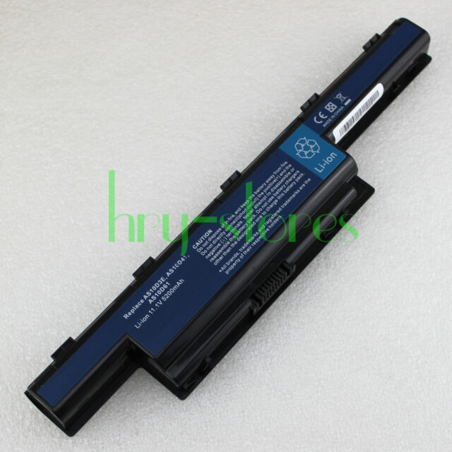 6 Cells Battery For Acer Aspire 7741 4740 4251 5741 5742 5750 5749 4741 AS10D81