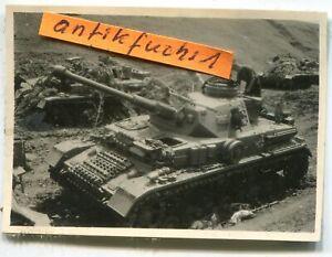 Foto - 1 : Deutsche Panzer-Abteilung in der Kalmückensteppe im 2.WK