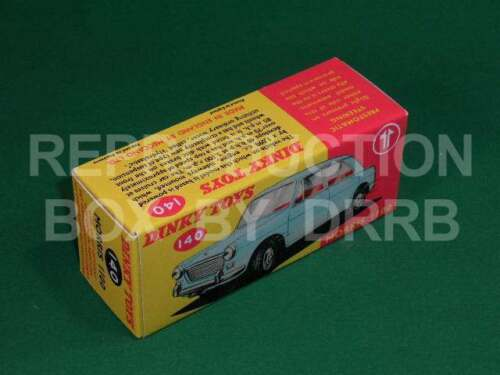 Dinky #140 Morris 1100 - Reproduction Box by DRRB