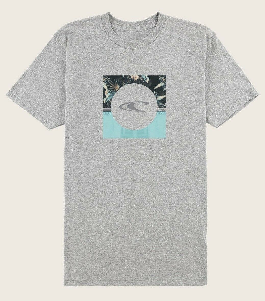 O'Neill Courtes Top Dog Hommes Manches Courtes O'Neill T-Shirt Taille M Gris Chiné Neuf 2018 0d0e94