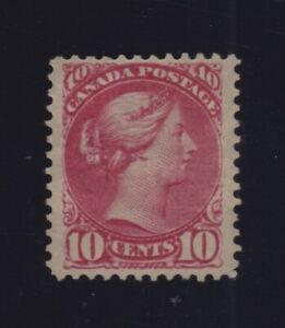 Canada-Sc-45b-Shade-1896-10c-Rose-Pink-Small-Queen-VF-OG