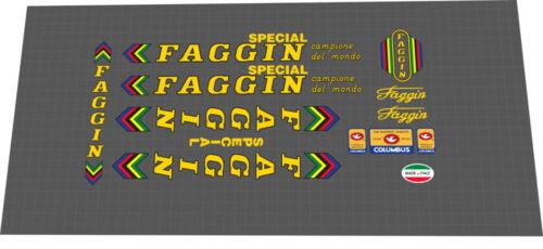 FAGGIN SPECIAL FRAME DECAL SET