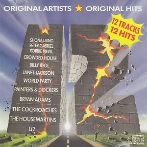 Various-Artists-12-CD-1987-Aussie-Compilation-CD-pressed-in-Japan