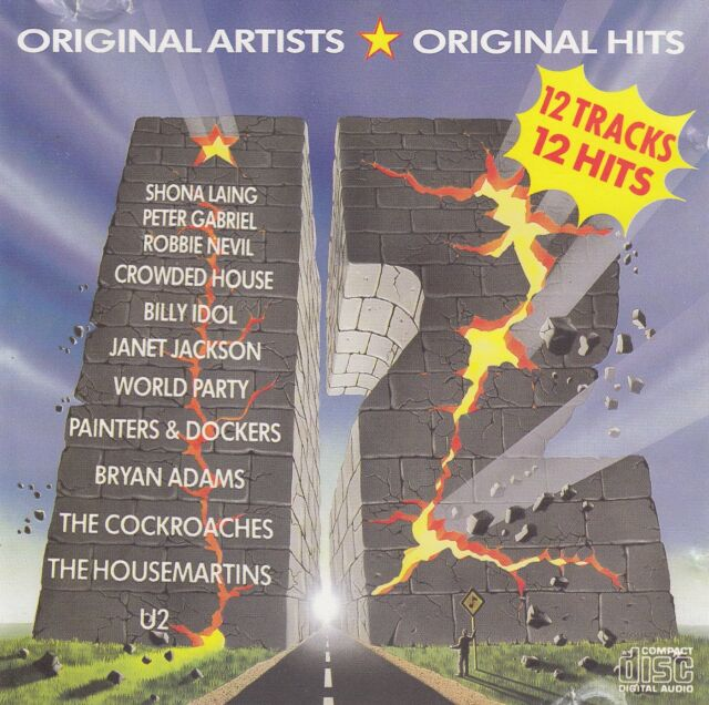 Various Artists - 12 CD (1987 Aussie Compilation CD pressed in Japan)