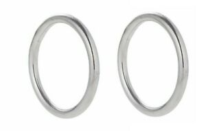 "5 x 316 Stainless Steel Multi Purpose O Rings 1 /"" Diameter"