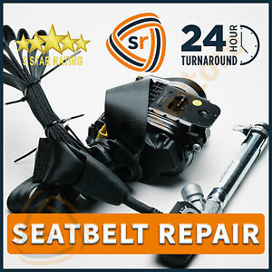 mazda 6 dual stage seat belt repair pretensioner rebuild reset