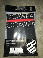Rocawear Boys 2 Pack Classic Boxer Briefs Size Xl Red/black