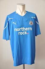 2010-11 Newcastle United Trikot Gr. XL Puma Jersey northern rock. blau