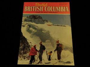 1973 Beautiful British Columbia Tourism Magazine Kokanee Harrison Winter   R901