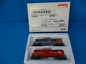 Marklin-46552-SBB-NS-Car-Set-034-Petroleum-Oil-Tank-Cars-Funnel-Flow-Tanks-034