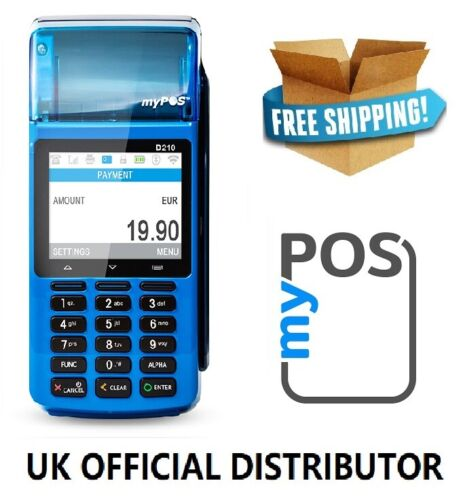 MyPOS Portable Payment Credit Card Terminal with Printer for All Card Types