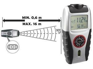 Powerfix ultraschall entfernungsmesser längen volumen und
