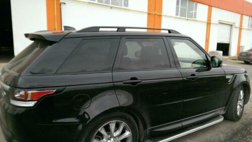 Roof Rack Side Rail Bar Black For MERCEDES VITO//VIANO LONG 2003-Up