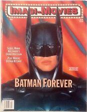 IMAGI-MOVIES BATMAN FOREVER MOVIE MAGAZINE 1995