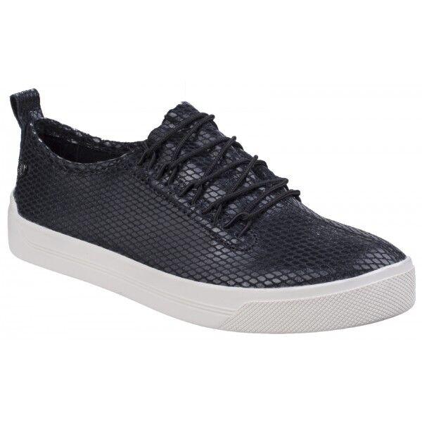 Hush Puppies Gabbie encaje señoras para mujer Encaje Encaje Encaje Resbalón en Zapatillas Zapatos De Salón Negro  precios mas baratos