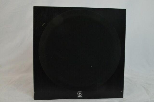 yamaha yst sw012 active subwoofer for sale online ebay. Black Bedroom Furniture Sets. Home Design Ideas