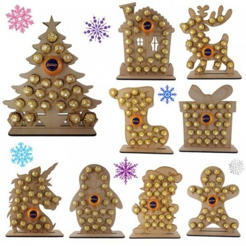 Calendar Christmas Advent Fits Chocolate Orange ferrero rocher advent