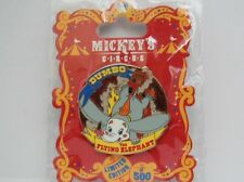 Disney Dumbo the Flying Elephant Mickey's Circus Program Acts LE 500 Pin
