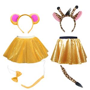 Elmer The ELEPHANT Costume fancy dress Ears Tail SCHOOL Dress Up WORLD BOOK DAY