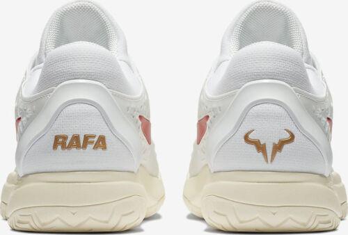 US 7.5 Rafa /& bull logo on heel UK 6.5 Nike Zoom Cage 3 HC