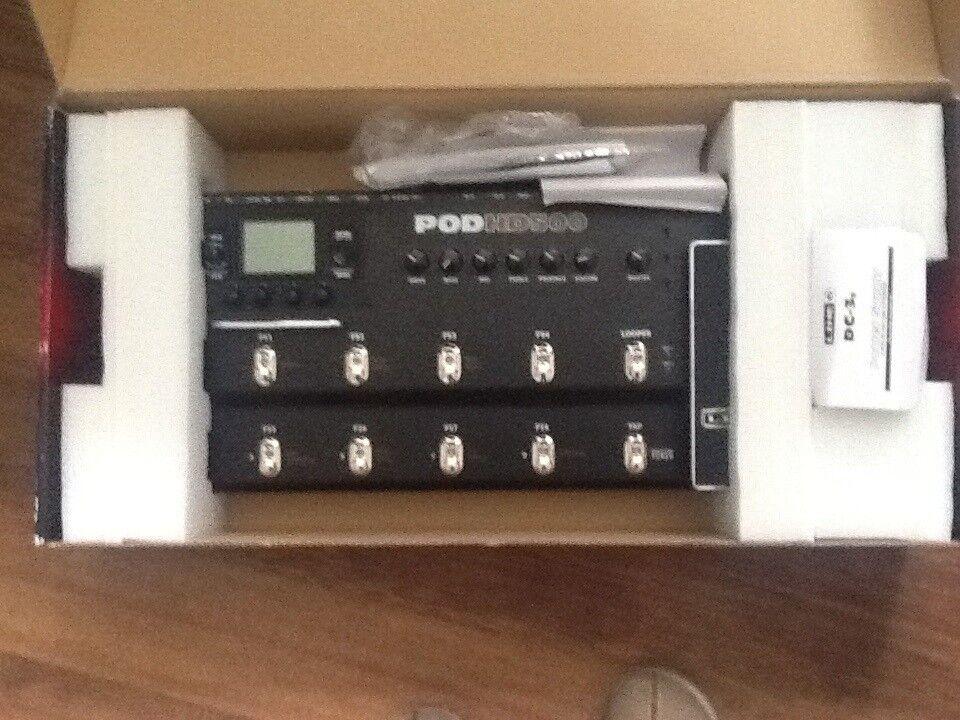 Guitarpedal, Line 6 HD500