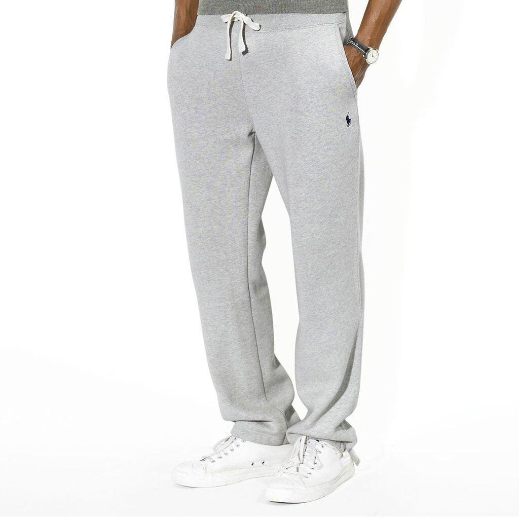 Ralph Lauren Classic Vellón Pantalón Deportivo Pantalones Deportivos Deporte gris Oscuro XL