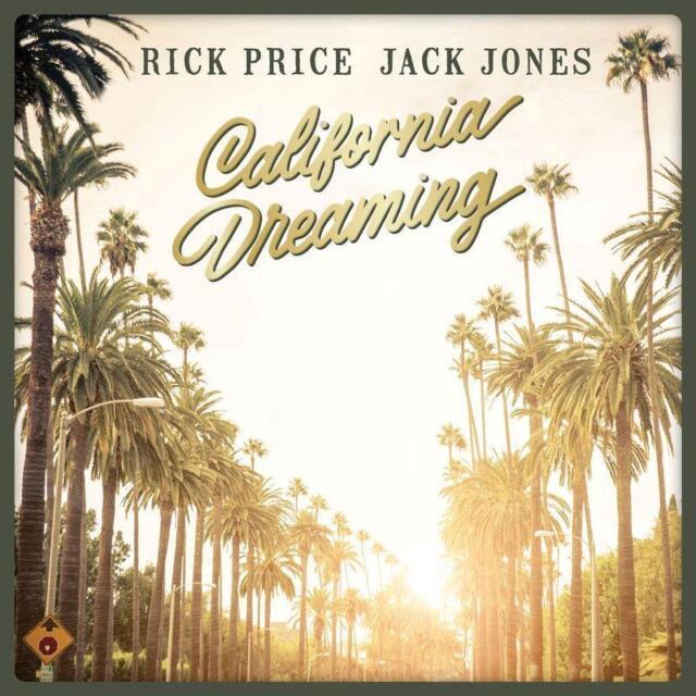 Rick Price & Jack Jones California Dreaming CD NEW