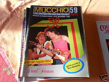 IL MUCCHIO SELVAGGIO NR 59/82 CON POSTER DI  BRUCE SPRINGSTEEN DAVID JOHANSEN