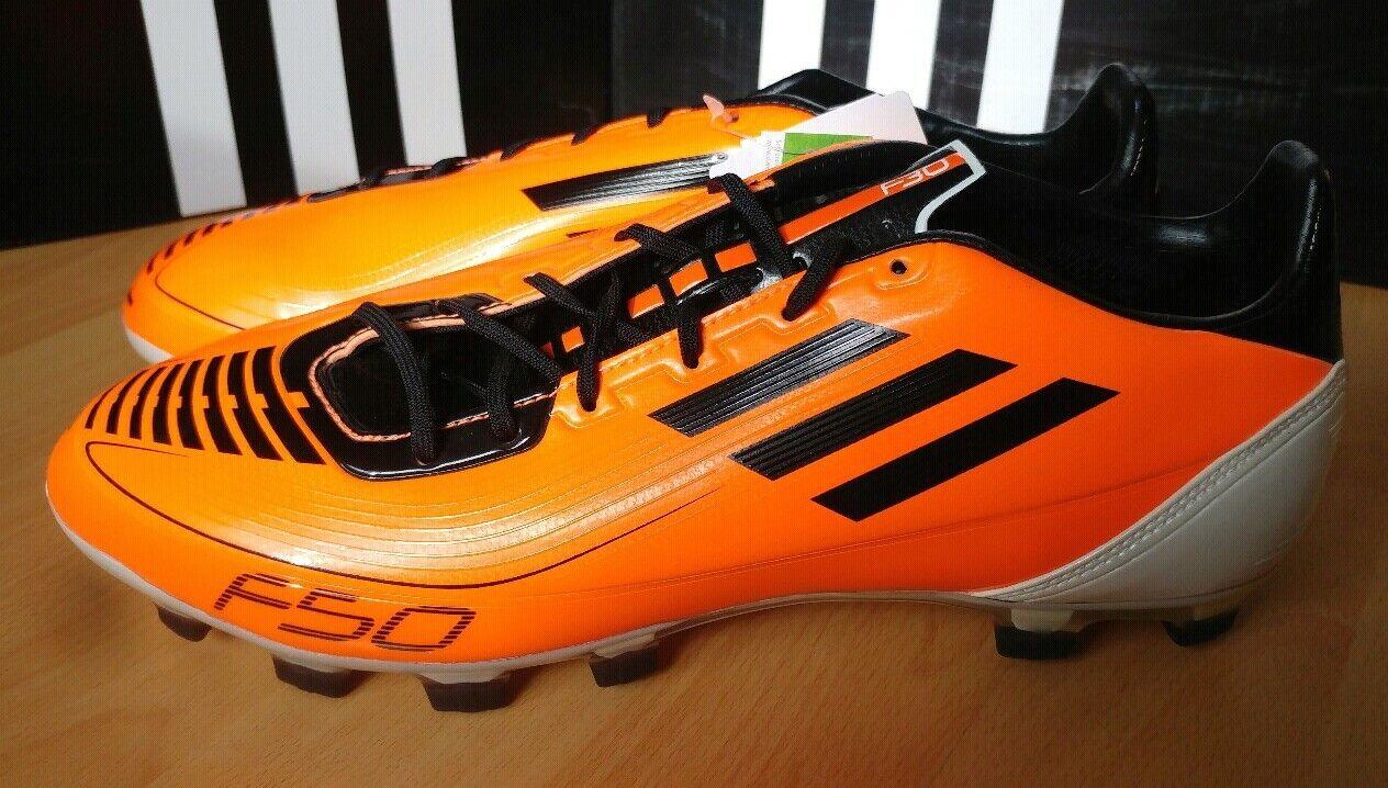 Scarpe da Calcio Adidas Soccer f30 TRX HG arancia Taglia 44 23 NUOVO