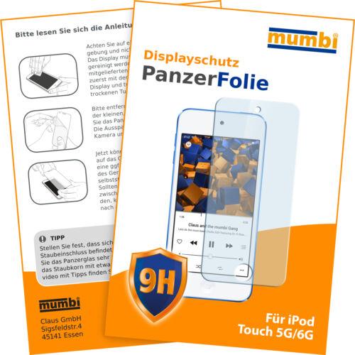 Mumbi tanques lámina para iPod Touch 5g 6g 7g lámina tanques lámina de vidrio película protectora