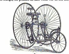 BICYCLES antique BIKES 21 old books repair design accessories Routes tricycles