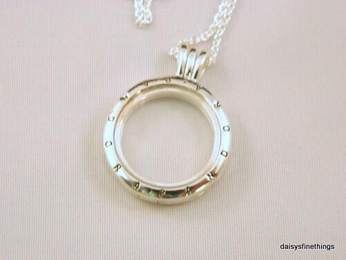 20920aa35 Authentic PANDORA Floating Locket Necklace Medium 60cm Chain for sale  online | eBay