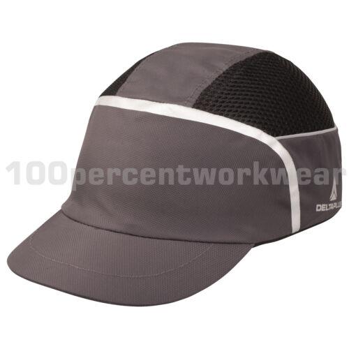 Delta Plus KAIZIO Grey Bump Cap Baseball Style Head Protection Safety Helmet Hat