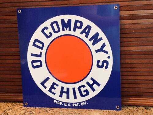 Old Company's Lehigh Anthracite Coal vintage Style reproduction metal sign