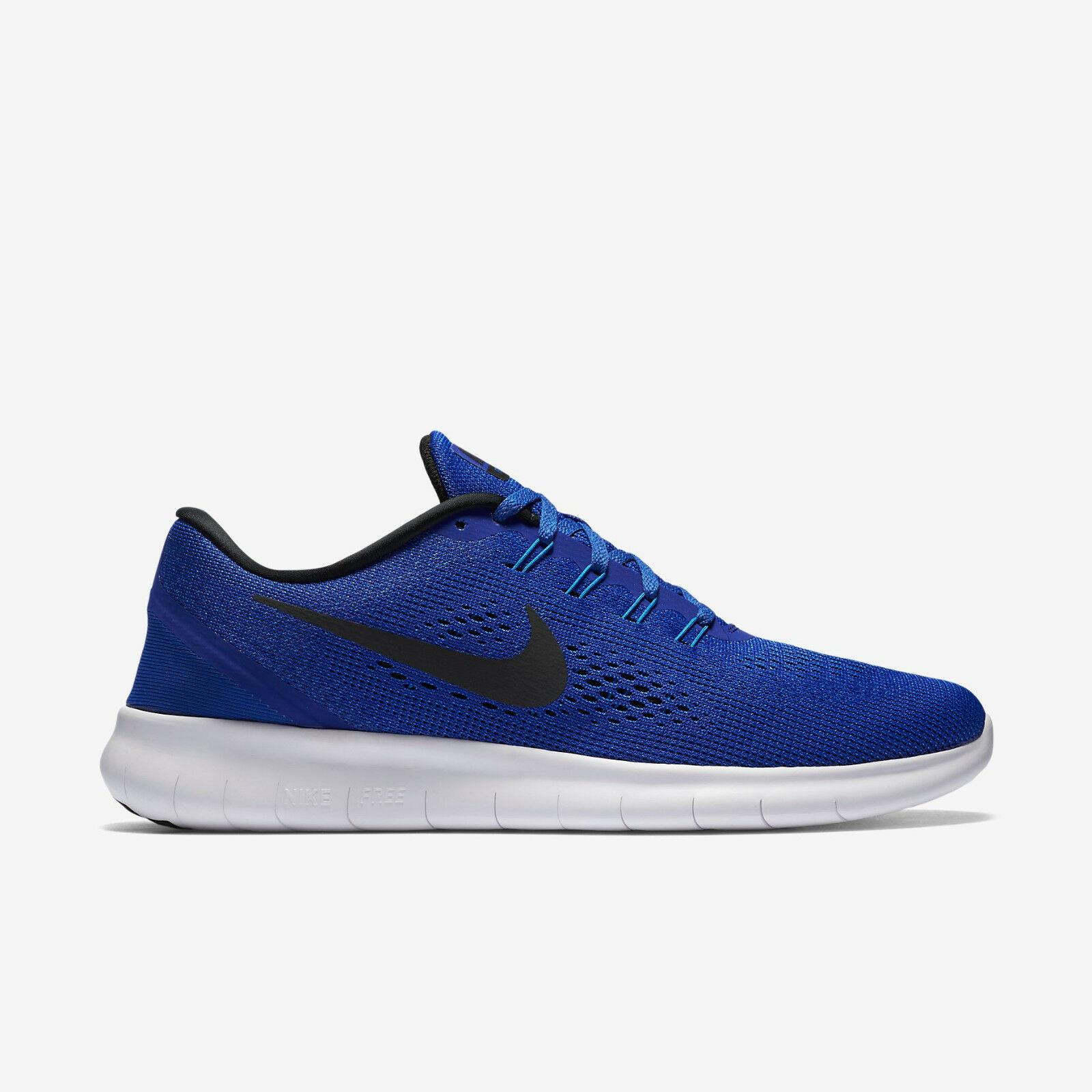 NIKE Free RN New  Uomo Trainers Royal Blau Running Schuhes 100% Authentic